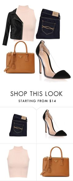 """Untitled #581"" by samson-90 on Polyvore featuring Abercrombie & Fitch, Gianvito Rossi, WearAll, Prada and Miss Selfridge"