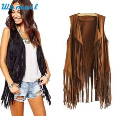 New arrival! *Online Exclusive... Buy it here now http://www.rkcollections.com/products/suede-fringe-vest?utm_campaign=social_autopilot&utm_source=pin&utm_medium=pin