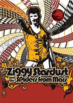 David Bowie , Ziggy Stardust era