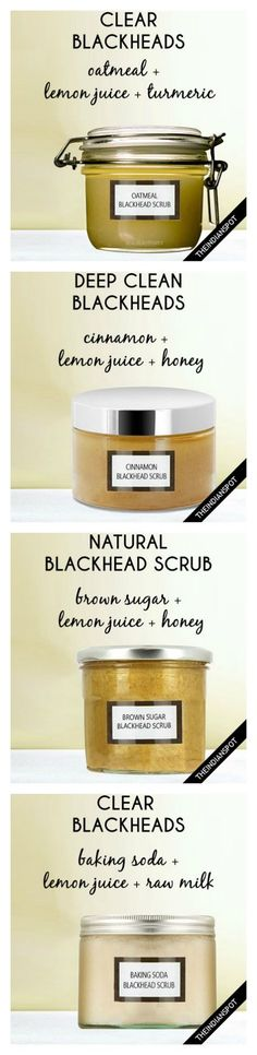 5 Best Homemade Blackhead Remover Scrubs More
