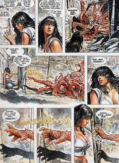 "Druuna - ""Capitolo Secondo - Delta"" - Serpieri - Esecutivo - W. Fantasy Comics, Fantasy Art, Serpieri, Science Fiction Series, Girl Artist, Frank Frazetta, Female Images, Comic Artist, Heavy Metal"