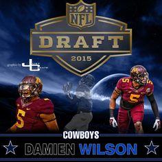 nfl Dallas Cowboys Damien Wilson ELITE Jerseys