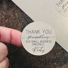 Kraft Brown Support Stickers Kraft Brown Stickers Thank You Stickers Small Business Stickers Sincerely Stickers Round Stickers Business Stickers, Business Labels, Craft Business, Business Branding, Business Thank You Cards, Etsy Business Cards, Bakery Business Cards, Packaging Design, Packaging Ideas