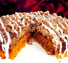 mom's pumpkin coffee cake