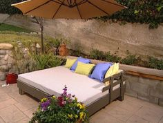 Build An Outdoor Daybed