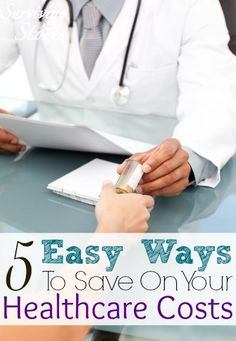 No need to fret about the rising prices of healthcare - here are five different ways that you can significantly lower your healthcare costs! Personal Finance #money