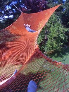 Ultimate backyard hammock!