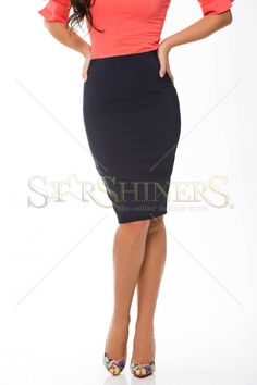 Fofy Chic Diplomacy DarkBlue Skirt