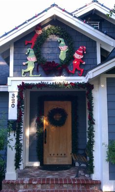 christmas town elves from nightmare before christmas christmas decorations