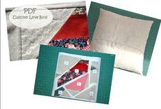 Cartamodello cuscino patchwork LOVE BIRD Magazine Rack, Storage, Home Decor, Purse Storage, Decoration Home, Room Decor, Larger, Home Interior Design, Home Decoration