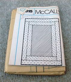 Never  Used Vintage McCalls Pattern 7817 by lovelylovedesigns, $7.99