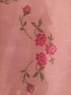 This Pin was discovered by Şük Cross Stitch Flowers, Cross Stitch Patterns, Embroidery Stitches, Hand Embroidery, Blackwork, Cross Stitch Art, Crochet Dresses, Monogram, Cross Stitch Embroidery