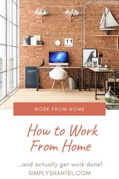 How to work from home (and actually get work done! Productivity, Lifestyle, Blog, Furniture, Home Decor, Interior Design, Home Interior Design, Arredamento, Home Decoration