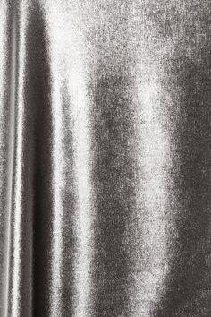 Silver Crushed Velvet fabric
