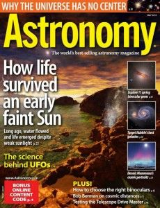 Artigos publicados na revista Astronomy refutam os OVNIs (com editorial)