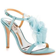 Badgley Mischka Cissy Wedding Something Blue Wedding Shoes. Badgley Mischka Cissy Wedding Something Blue Wedding Shoes on Tradesy Weddings (formerly Recycled Bride), the world's largest wedding marketplace. Price $105.00...Could You Get it For Less? Click Now to Find Out!
