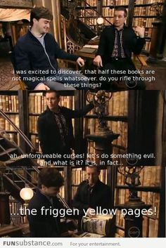 The books in Harry Potter