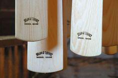 Shaw & Tenney Oars