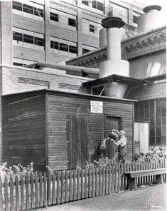Harley Davidson plant, 1939