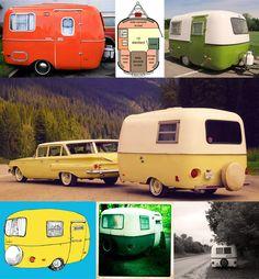 Tiny caravans