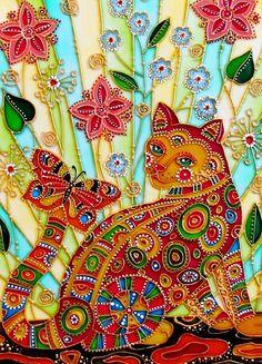 лето кошки
