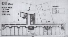 Plan : Pavillion Suisse : Swiss Pavilion, Paris (1930-33) | Le Corbusier and Pierre Jeanneret
