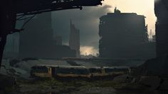 ArtStation - Abandoned City Concept, F.A. Herold