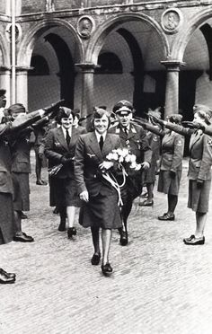 Germany never fully utilize women for the total war. Photos show some contribution of women to Germany's war effort.