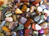 Wholesale 200 large 23mm - 35mm assorted polishedtumble stone gemstone crystals by OnyxKeys on Etsy