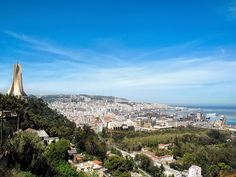Nowdays - General view of the city (Algiers, Algeria)