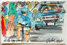 Greig Leach @ArtofCycling @AstanaTeam @LLEONSANCHEZ pushing it all of the way, more #ParisNice #cycling #art @ theartofcycling.blogspot.com #ciclismo pic.twitter.com/PiraYLesNc