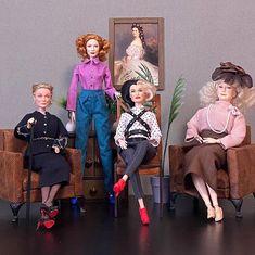 Barbie Family, Doll Stuff, Harajuku, Dolls, Style, Fashion, Baby Dolls, Swag, Moda