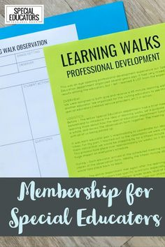 Special Educators - find what you need in one organized place! Data tracking, PD, visuals, meeting agendas, and so much more in Special Educators Resource Room - a membership for BUSY teachers!