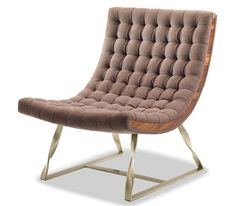 Evo Lounge Chair / Get started on liberating your interior design at Decoraid (decoraid.com)
