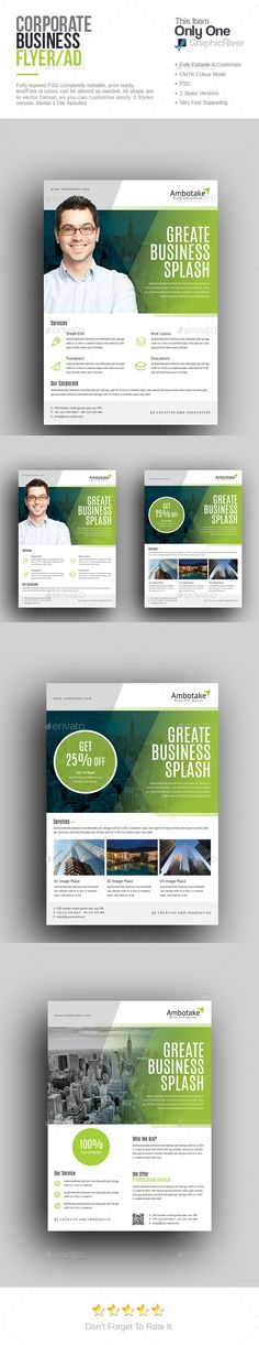 Corporate   Business Flyer Template PSD Flyer Templates - discount flyer template