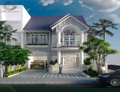 House Front Wall Design, Simple House Design, Modern House Design, 2 Storey House Design, Bungalow House Design, Latest House Designs, Cool House Designs, Classic House Exterior, Building Front