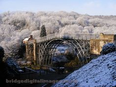Ironbridge  The World Heritage Site of the First bridge constructed of Iron.