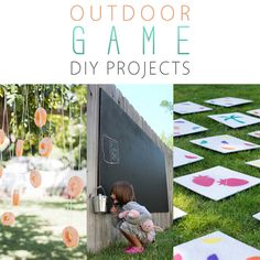 Outdoor Game DIY Projects - The Cottage Market