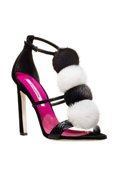Style.com Accessories Index : Fall 2014 : Brian Atwood #brianatwoodheelsfashion