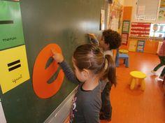 LA CLASE DE MIREN: mis experiencias en el aula.hacemos letras con agua