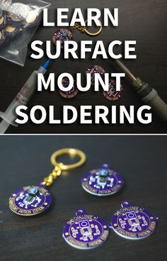 I feel like surface mount soldering has a bad reputation. It can seem daunting to someone who has never tried it. Since a lot of my project involve using surface mount components, I thought it would be a good idea to make something to inspire people to try it out(without risking expensive components or their custom project).