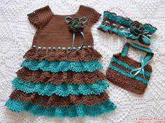 Здравствуйте, дорогие Страномамочки! У моей Луизы обновки. Связала еще два замечательных платьица. Первое по подробнейшему МК Юлечки maxi http://www.stranamam.ru/  И подробнее детали: