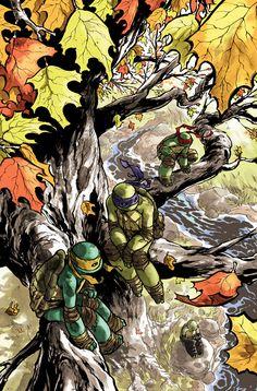 Teenage Mutant Ninja Turtles #29 by mooncalfe.deviantart.com on @deviantART