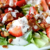 California Club Blue Cheese Chopped Salad...extremely easy to make!