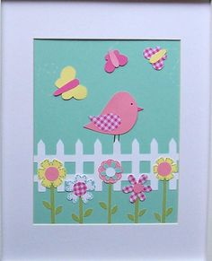 A Picture Perfect Day-Baby Room Nursery Decor Art for Children Birds by vtdesigns, $14.00