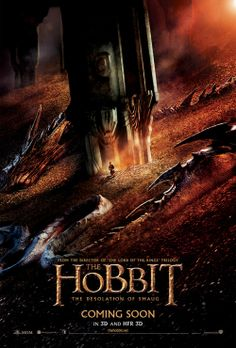 The Hobbit: The Desolation of Smaug (2013) Movie Poster #thehobbit #lotr #film