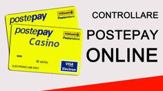 Metodo di deposito dei #casino con #postepay :- La Postepay è un metodo di #deposito popolare fra i giocatori dei casinò online italiani. La Postepay è sicura ed è autorizzata dal governo. Scopritene i dettagli qui. #onlinecasino
