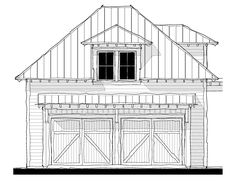 House Plan Design from Allison Ramsey Architects Second Floor, Architects, House Plans, Photo Galleries, Garage, Floor Plans, Exterior, Flooring, How To Plan