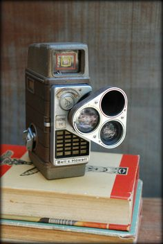 Vintage Movie Camera - 1960's Bell and Howell