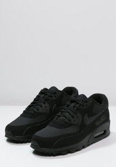 Nike Sportswear AIR MAX 90 ESSENTIAL - Sneakers - black - Zalando.se